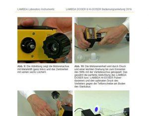Pulverdosiergerät Bedienungsanleitung: zum Download